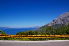 Makarska Riviera in Dalmatia Stock Photos