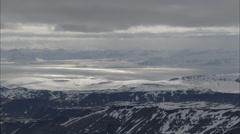 Polar Frozen Tundra Stock Footage