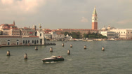 Stock Video Footage of View of St Marks and the Grand Canal