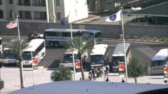 Las Vegas City Hotels Stock Footage