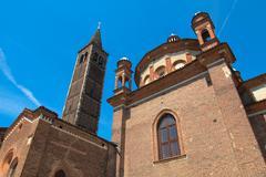 Stock Photo of Sant Eustorgio church, Milan