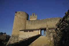 Rocca di Staggia (Tuscany) - stock photo
