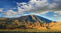 Mountain landscape, Teide volcano view, Canary islands, Spain. Time-lapse. HD Footage