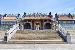 Chinese temple in Hong Kong - stock photo