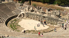 The Great Theater of Ephesus - stock footage