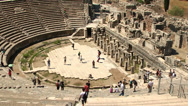 Stock Video Footage of The Great Theater of Ephesus