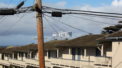 Old Motel 01 HD Stock Footage