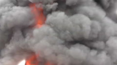 Air Force firefighters Stock Footage