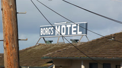 Old Motel 02 HD Stock Footage