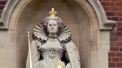 Statue at Harrow school Stock Footage