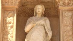 Library of Celsus - stock footage