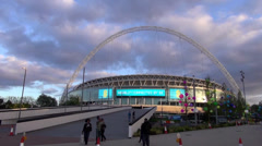 Wembley Stadium Stock Footage