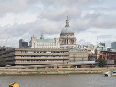 St Paul Cathedral London - stock photo