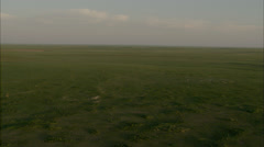 Grasslands Plain Prairie Stock Footage