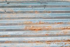 Texture of rusty zinc Stock Photos