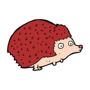Stock Illustration of cartoon hedgehog