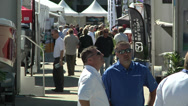 Stock Video Footage of People attend Miami International Boat Show