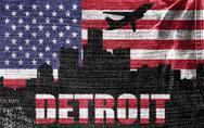 Stock Illustration of detroit city