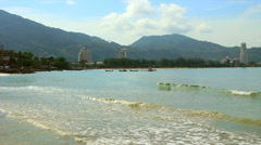 Patong Beach Phuket, Thailand. - stock footage
