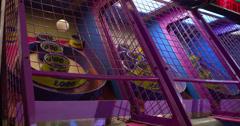 Skeeball game at arcade 4k Stock Footage