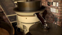 Work of  Chocolate Factory.  Chocolate Mill. Stock Footage