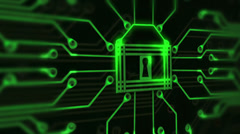 1652 Cyber Security, HD - stock footage