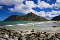 Arctic beach Stock Photos