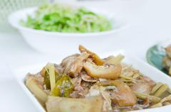 asain food - stock photo