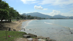 Kalim beach near Patong Beach Phuket, Thailand. Stock Footage