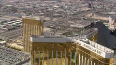 Mandalay Bay Las Vegas Strip Stock Footage