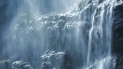 spring water. source. fresh pristine clean.waterfalls. epic waterfall background - stock footage