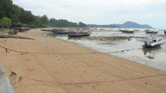 Rawai beach, Phuket Stock Footage