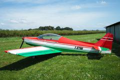 Asso iv whisky ultralight airplane Stock Photos
