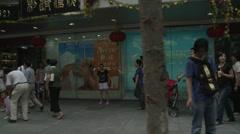 Lei Yun Shang pharmacy in Shanghai - stock footage