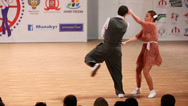 Stock Video Footage of Pair dance boogie-woogie on World championship