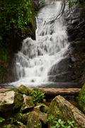 Siribhum waterfall in chaingmai Stock Photos