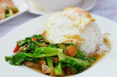 Yummy cuisine Stock Photos