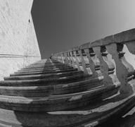 Architectural Detail of Assisi in Umbria Stock Photos