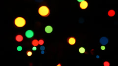 Abstract Lights background Stock Footage