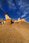 Hoodoos - stock photo