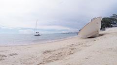 Summer season on the beach Stock Footage