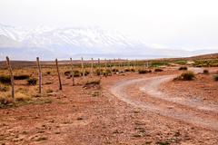 Atlas mountain in morocco Stock Photos