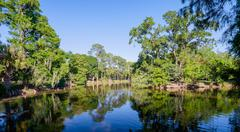 audubon park - stock photo