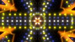 Abstract loop motion background, kaleidoskope Stock Footage