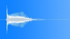 Crossbow arrow hit vibration - sound effect