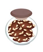 Stock Illustration of A Jar of Delicious Homemade Almond Cookies