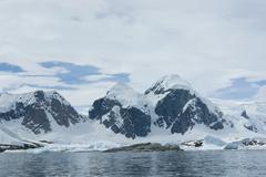 Mountains of antarctica Stock Photos