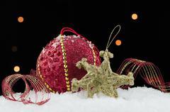 Christmas pallo helyjä Kuvituskuvat