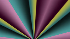 Retro hypnotic background seamless loop - 1080p Stock Footage