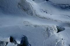 Breithorn peak in swiss alps seen from klein matterhorn Stock Photos